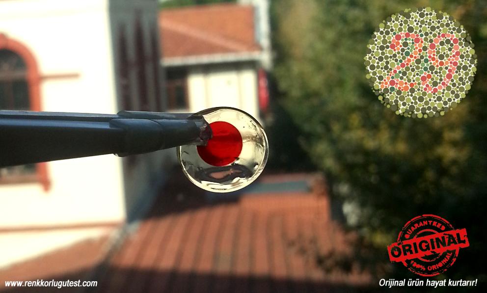 orijinal renk körlüğü lensi