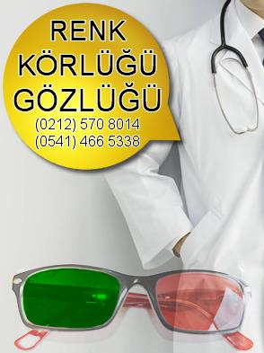 Renk körlüğü gözlüğü kampanya