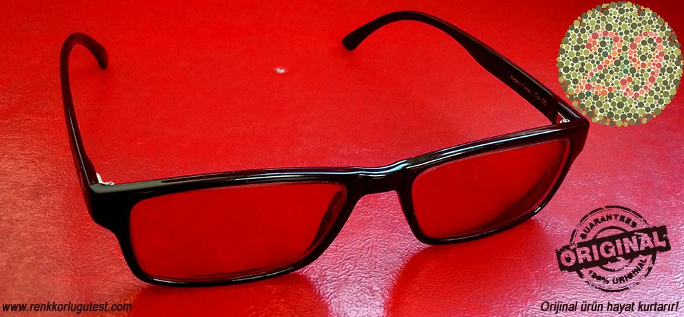 renk körlüğü gözlükleri